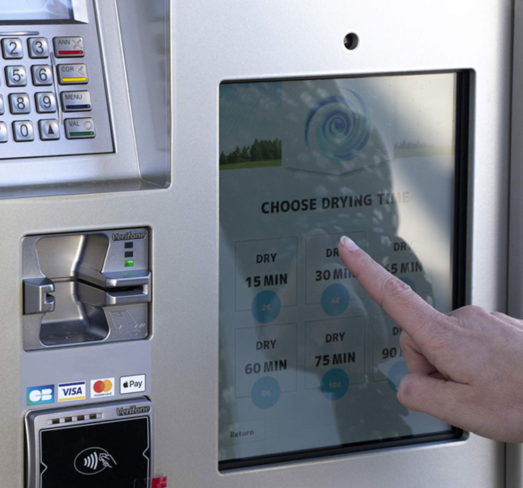 Las lavanderías de monedas de Revolution Laundry son de alto rendimiento y calidad